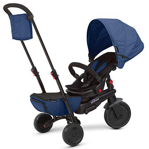 smarTrike Smartfold 700 Folding Baby Tricycle. Blue