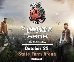 oct 22 the chainsmokers