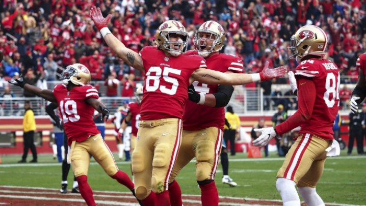 george kittle week 16 rookie review