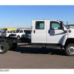 2009 Gmc C Series Topkick C5500 Crew Cab Chassis In Summit White Photo 7 407964 Truck N Sale