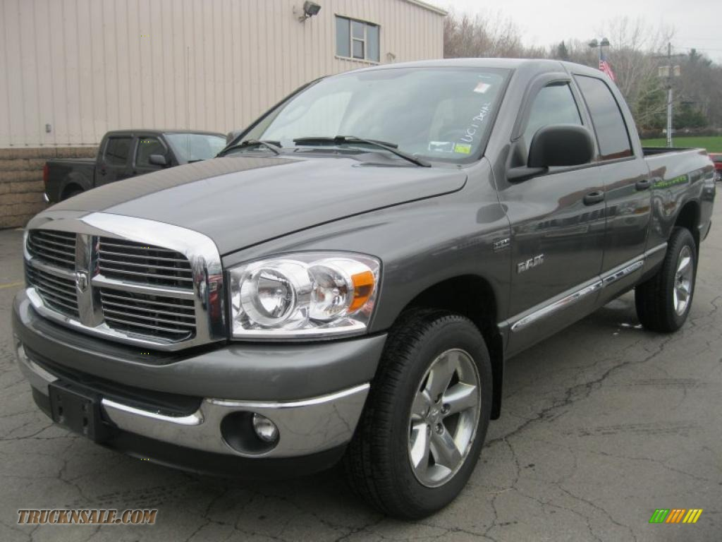 hight resolution of 2008 dodge ram 1500 big horn edition quad cab 4x4 in mineral gray metallic 557041