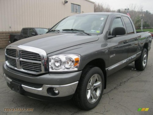 small resolution of 2008 dodge ram 1500 big horn edition quad cab 4x4 in mineral gray metallic 557041