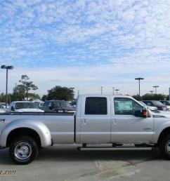 2012 f350 super duty lariat crew cab 4x4 dually ingot silver metallic black photo [ 1024 x 768 Pixel ]