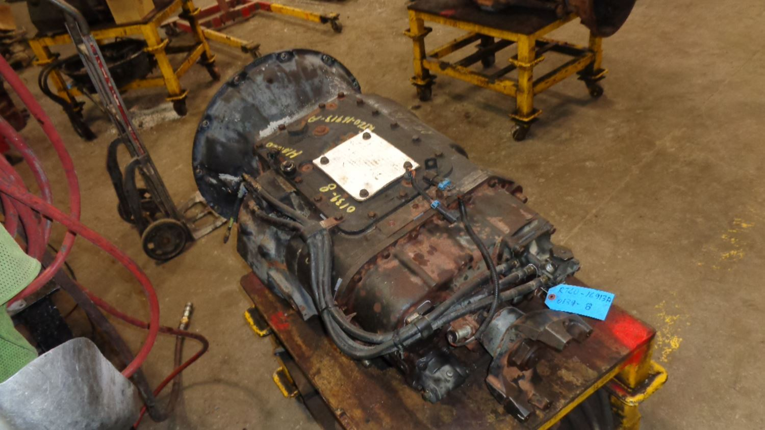eaton fuller 9 speed transmission diagram aav vent installation rear seal pictures to pin on