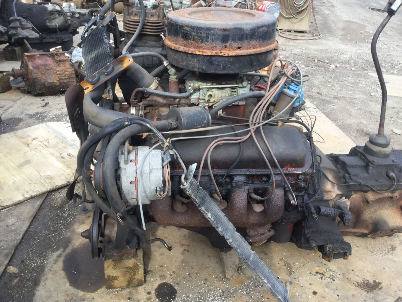 57 Chevy Starter Wiring 1975 Gm Chev Hd 366 Stock Salvage 1017 T Gme 2001 Tpi