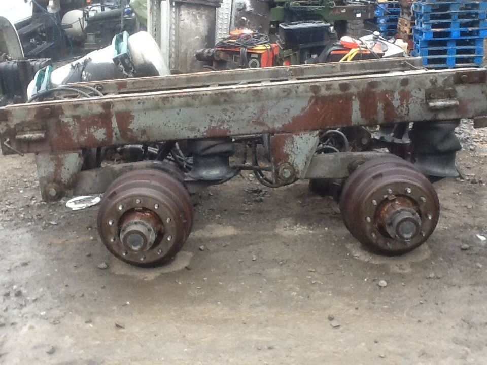 trailer tandem other stock