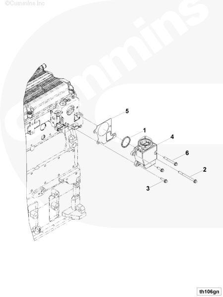 Bestseller: Cummins Isx Engine Parts Diagram