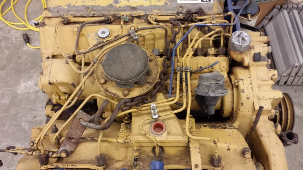 Caterpillar 1160 Stock P 1 Engine Cores Tpi