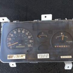 Isuzu Npr 200 Wiring Diagram Motorola Marine Alternator 2000 Stock 50732 Instrument Cluster Tpi