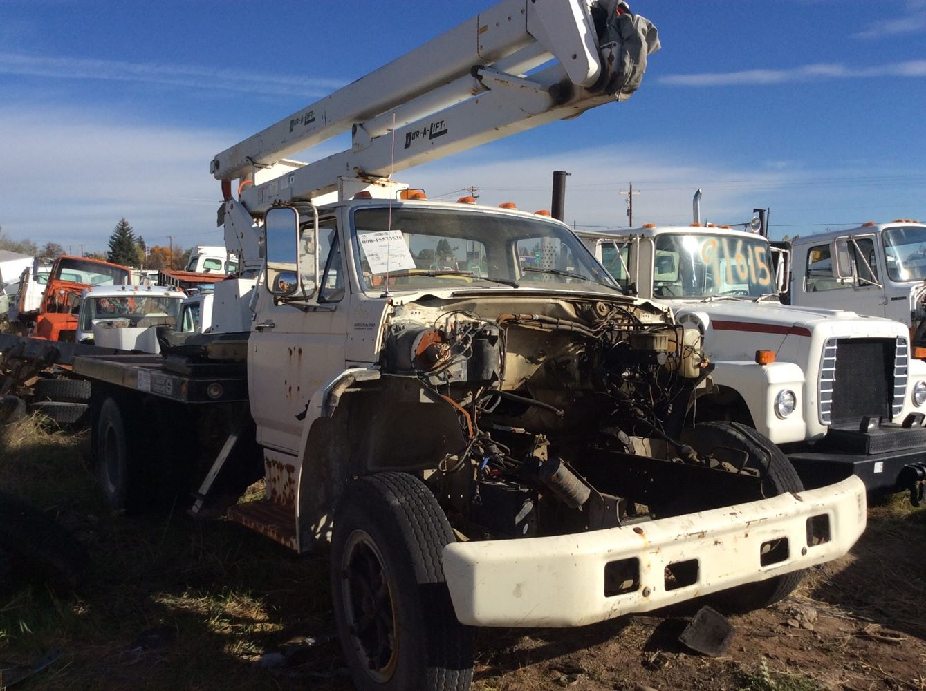 hight resolution of ford f600 salvage 100915