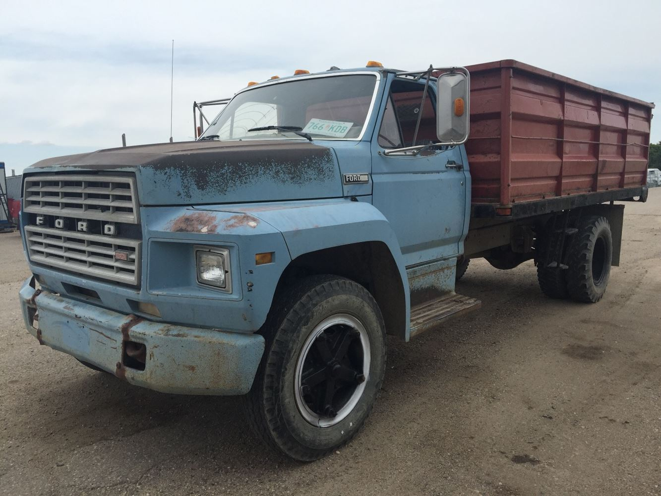 hight resolution of ford f600 salvage sv 124