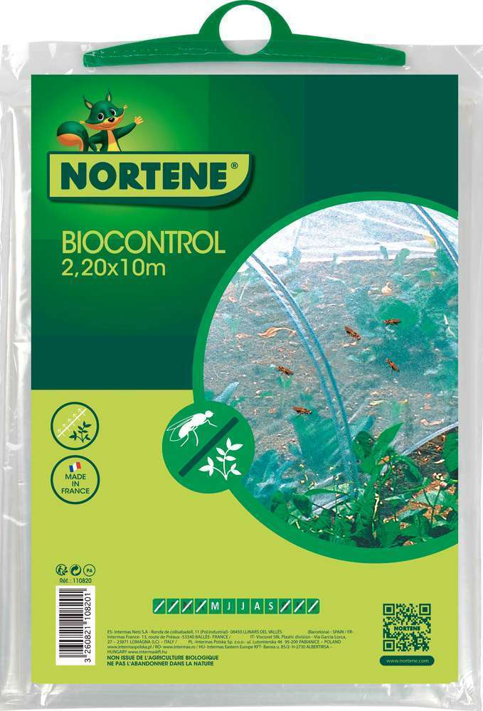 Filet Anti Insectes Climabio Transparent 2 20x10m Truffaut