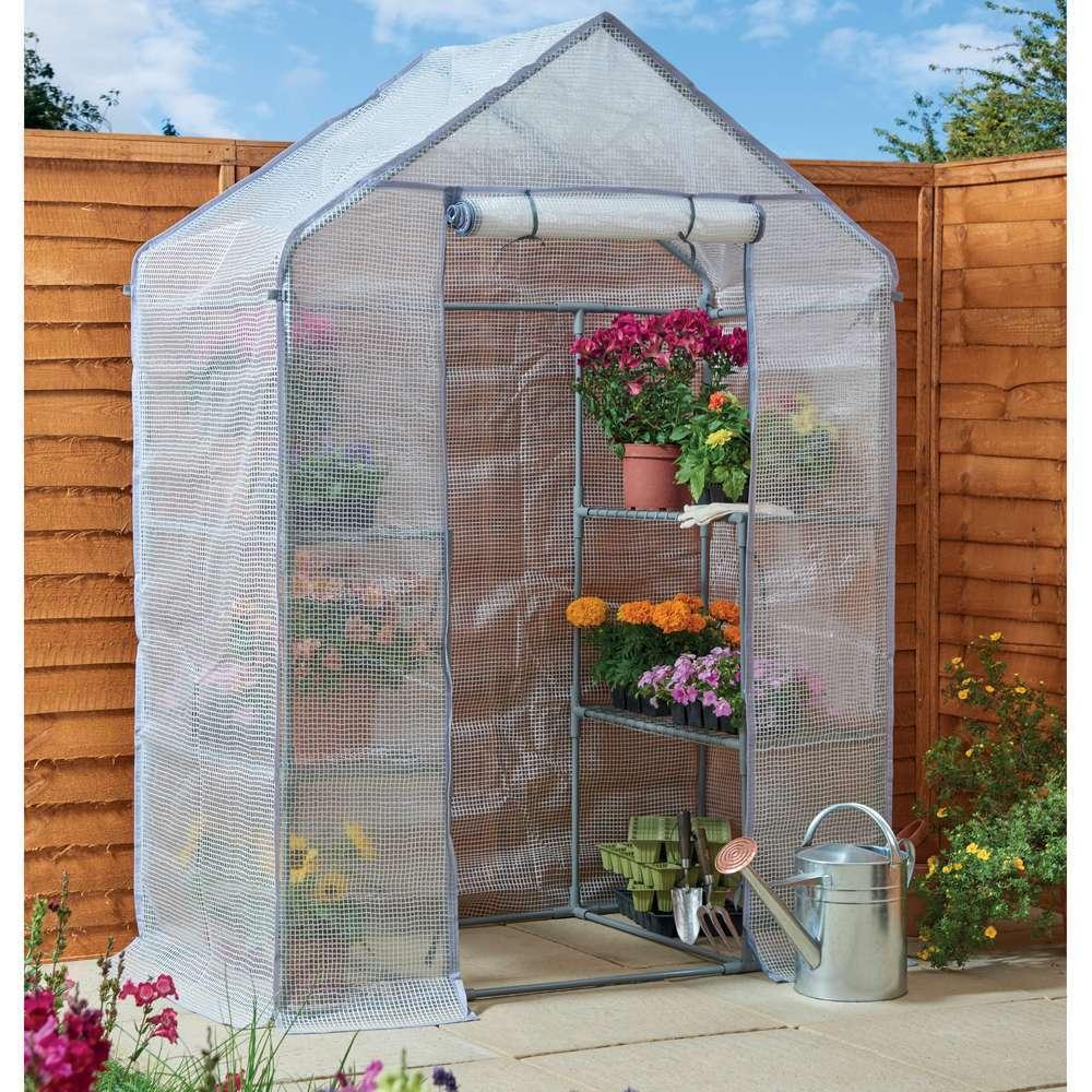 serre de jardin en polyethylene souple l 140 x l 73 x h 196 cm