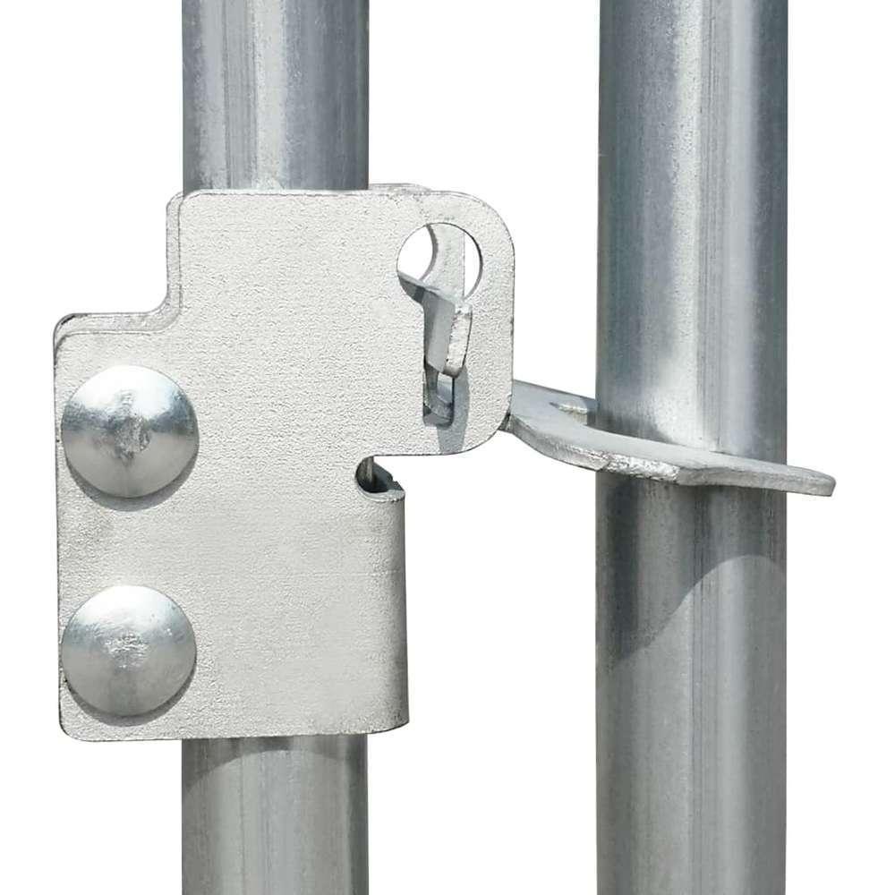 poulailler d exterieur 2 75 x 4 x 2 m acier galvanise