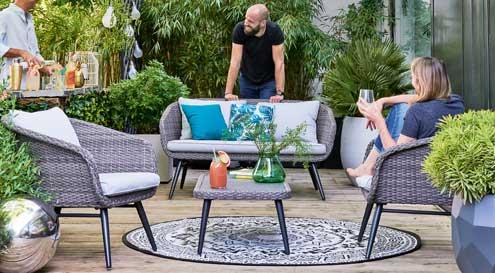 mobilier exterieur salons de jardin