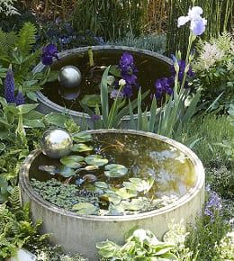 bassin de jardin fontaines exterieur