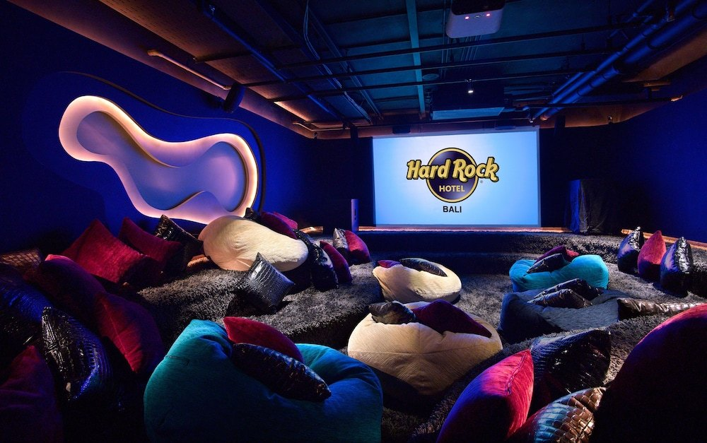 Cinema area at Hard Rock Hotel Bali