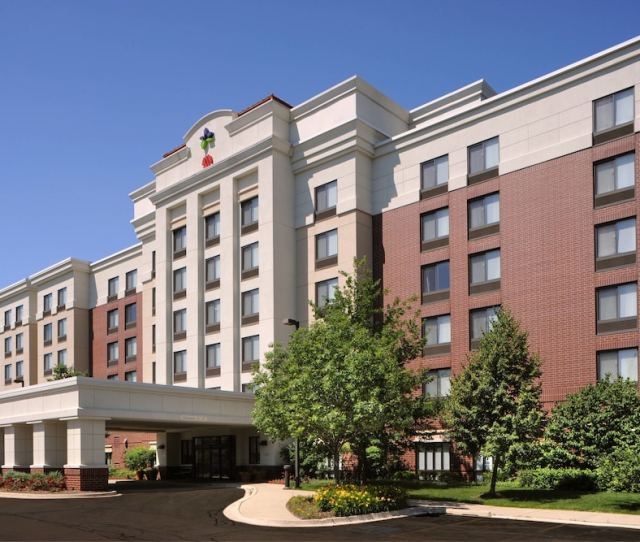 Springhill Suites By Marriott Chicago Lincolnshire In Chicago Hotel Rates Reviews On Orbitz