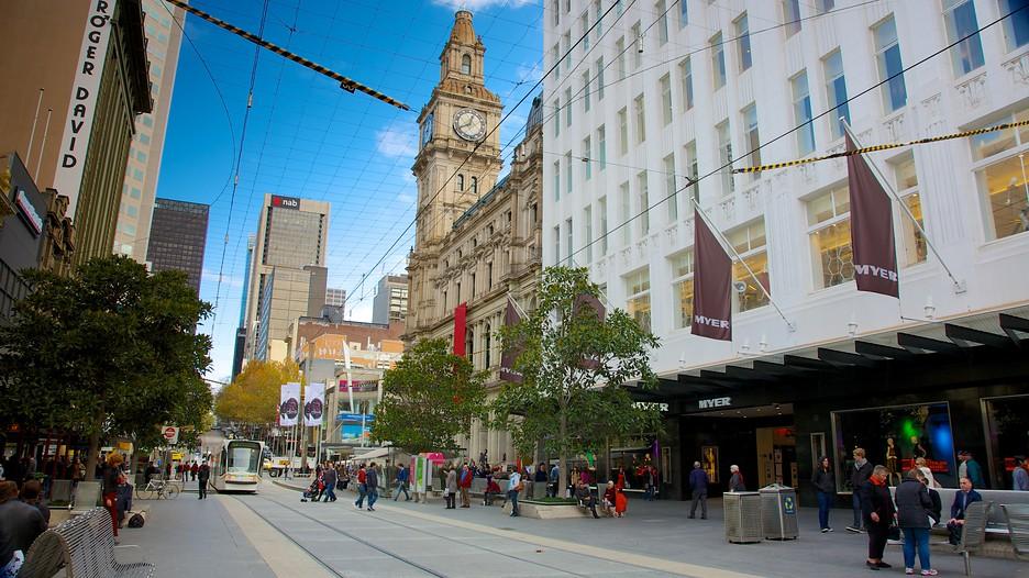 Bourke Street Mall  Melbourne, Victoria Attraction