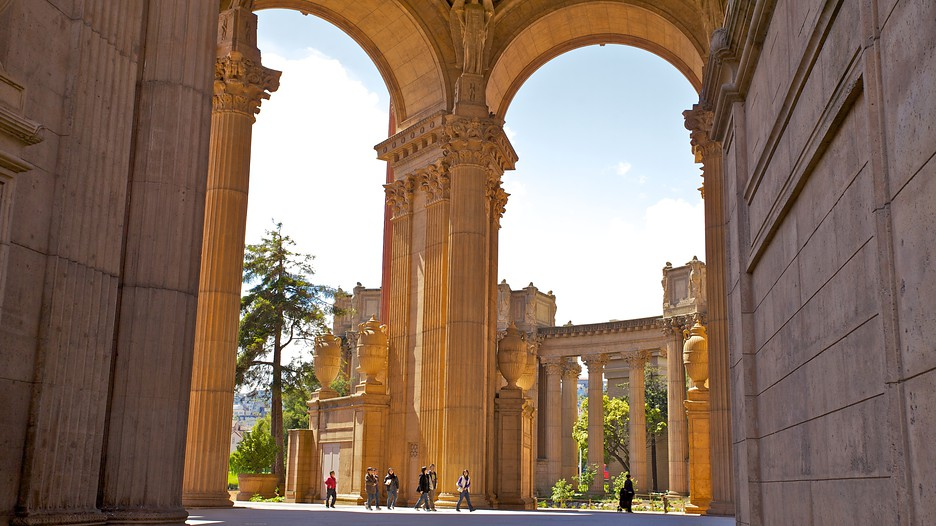 Palace Of Fine Arts In San Francisco California Expediaca