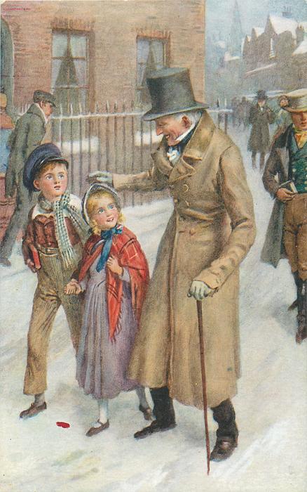 HOW SCROOGE KEPT CHRISTMAS DAY TuckDB Postcards