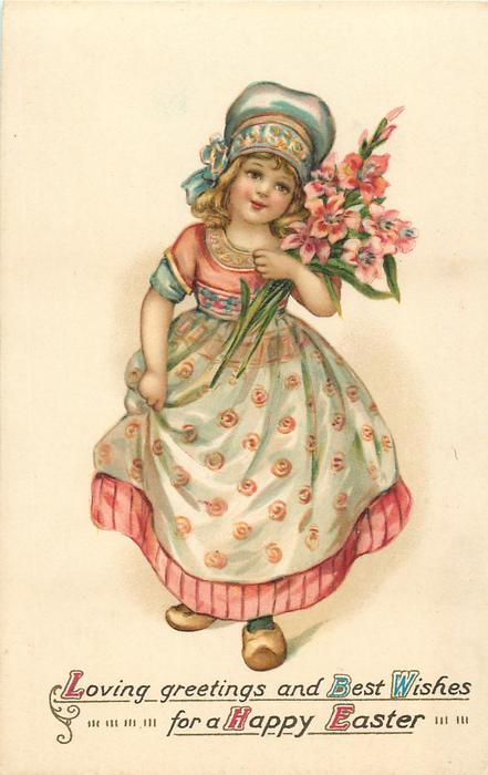 LOVING GREETINGS AND BEST WISHES FOR A HAPPY EASTER Dutch