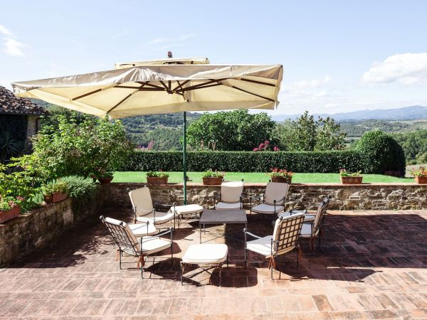 Vicchio Holiday Rental La Terrazza Dei Frati located