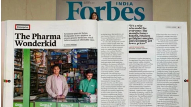 Generic Aadhaar Franchisee: Generic Aadhaar was started by 16-year-old entrepreneur Arjun Deshpande in 2018 from Thane, Maharashtra.  Veteran industrialist Ratan Tata liked his idea so much that he invested heavily in this company.  Generic Aadhar is a fast growing and emerging Indian Pharma company.  Here you get up to 80 percent discount on medicines.  According to a report, 60 percent of India's population cannot buy the medicines they need from the market.  Generic Aadhaar is a cheaper alternative to expensive medicines, in which there is no compromise with quality.