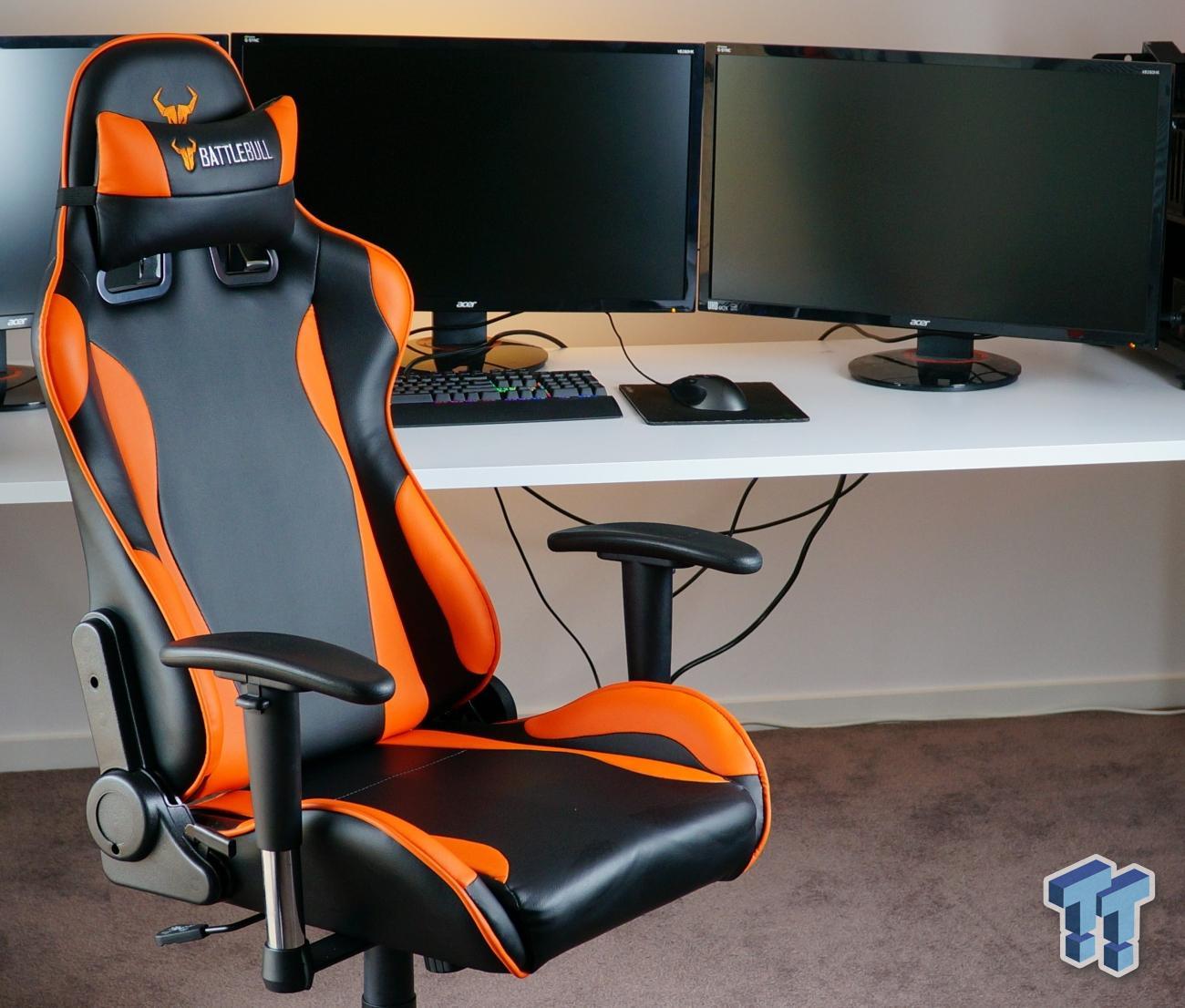 gaming chair review dark teal covers battlebull combat