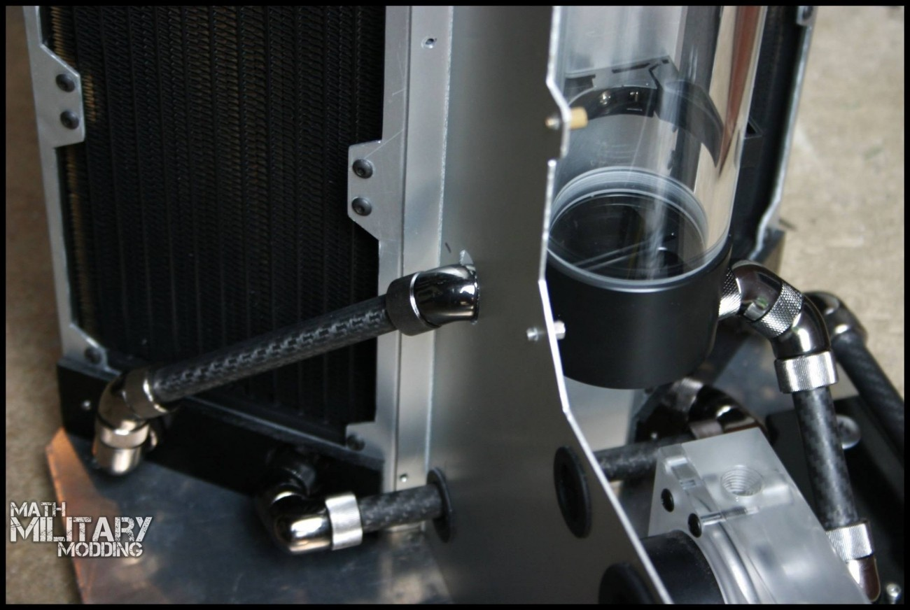 Rigid tubing done differently - Math Military takes on carbon fiber | TweakTown