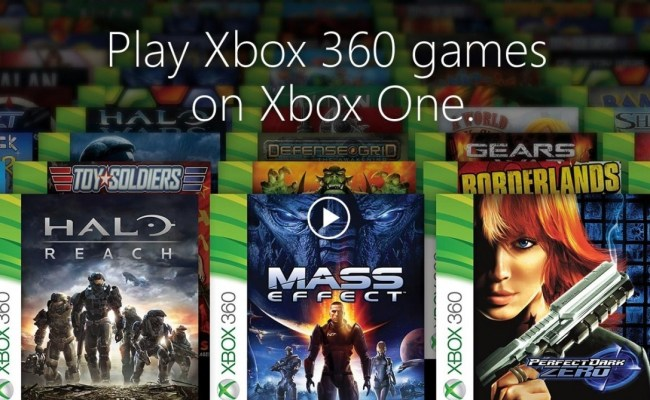 Full List Of Xbox One Backward Compatible Games Coming Soon