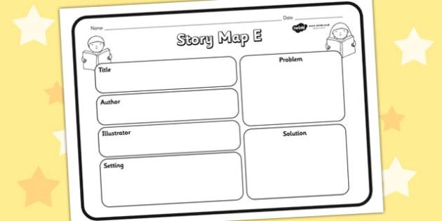 Story Map E Worksheet