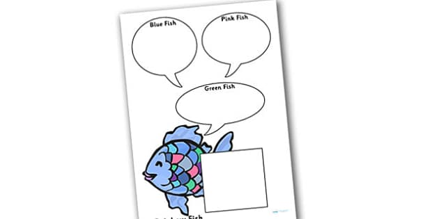Role on the Wall Worksheet to Support Teaching on The Rainbow