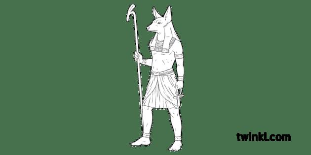 Anubis Ancient Egypt God Afterlife Mythology PlanIt