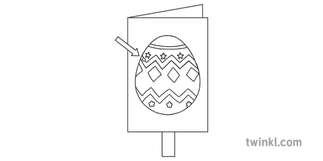 Easter Card Craft Step 8 Hinge and Lever Moving Egg Chick