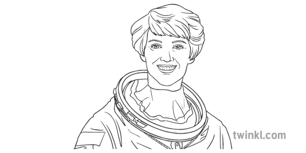 Eileen Collins Portrait USA NASA Space Astronaut Female