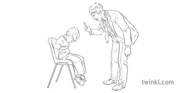 Incorrect Discipline Telling off Angry Child Teaching