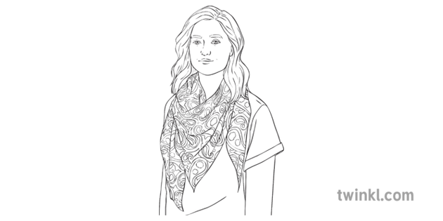 Woman Wearing Paisley Shawl Person Fashion Textile Pattern
