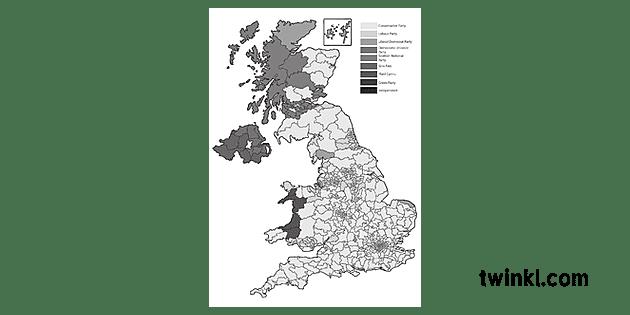 2017 coitcheann taghadh toraidhean map uk poilitigs pshce