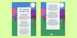 The Light At The End Of The Tunnel Rhyming Couplets Poem Sheet