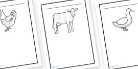 Farm Animals Worksheet / Worksheet, worksheet