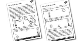 KS2 How Light Travels PowerPoint (teacher made)
