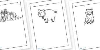 Character Description Writing Frames Early Years (EYFS
