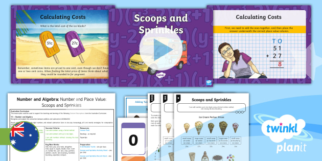 * New * Planit Mathematics Year 3 Number And Algebra Number And Place Value