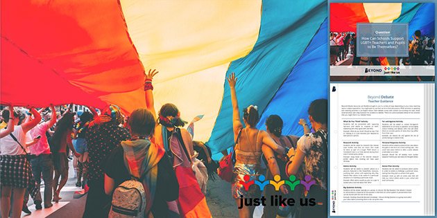 Beyond and Just Luke Us for School Diversity Week 2020
