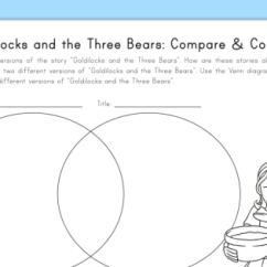 Using A Venn Diagram To Compare And Contrast Jvc Kd G340 Wiring Goldilocks The Three Bears Worksheet Fairy Use This