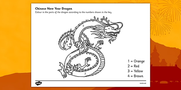 free chinese dragon number