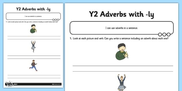 Adverbs Application Worksheet Worksheet