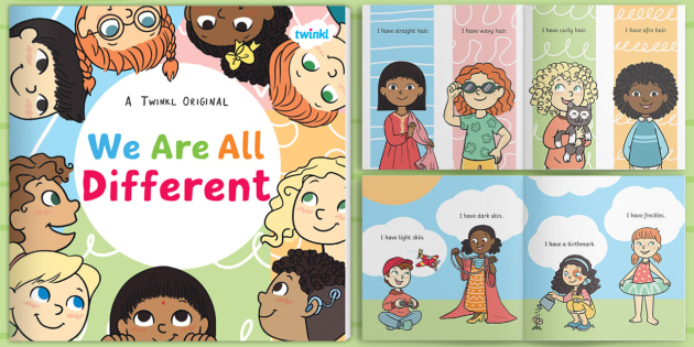 * New * We Are All Different Ebook  Difference, Inclusion