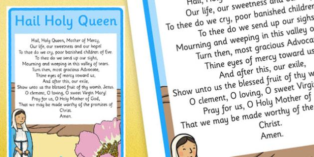 hail holy queen a4